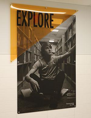 Art on QHS walls - explore