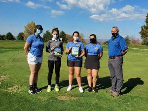 Photo of girls golf team