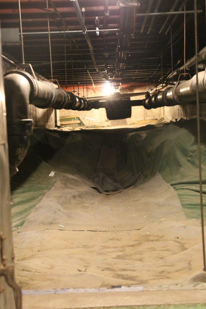 Photo of QMS crawlspace